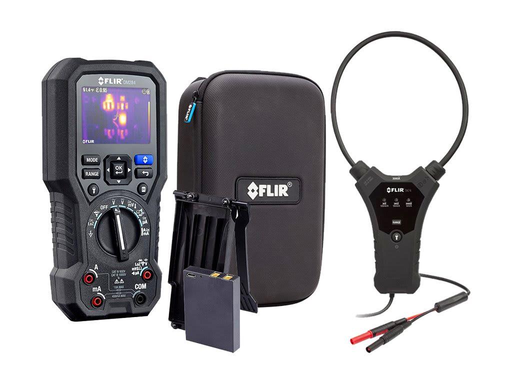 illustration du multimètre caméra thermique FLIR DM284