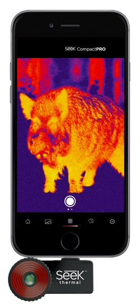 illustration de la caméra thermique pour smartphone seek compact pro