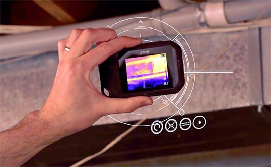 photo de la caméra thermique compacte flir c3