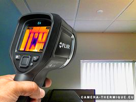 illustration de la flir e4