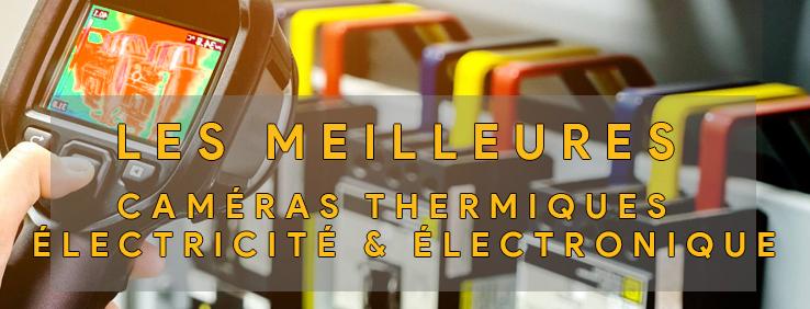 Logo de la catégorie dédiée aux caméras thermiques pour les professionnels de l'électronique et de l'électricité