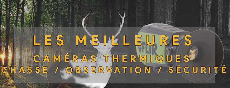 illustration de la catégorie du site parlant des meilleurs monoculaires et caméras thermiques pour la chasse et l'observation de la faune
