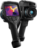photo d'une caméra thermique illustrant le logo de camera-thermique.eu