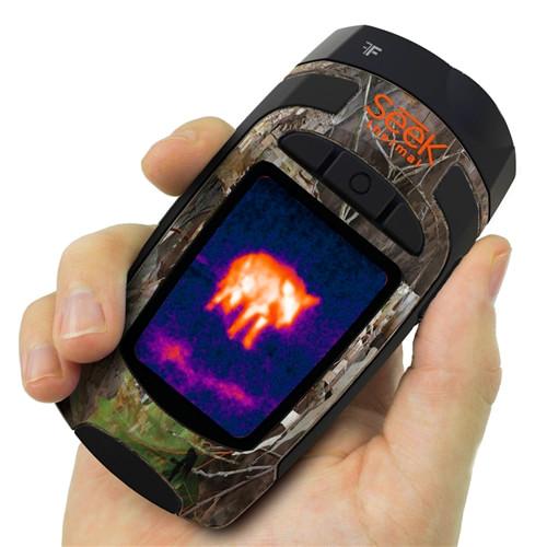 photo de l'appareil d'imagerie thermique seek thermal xr dans sa version camouflage