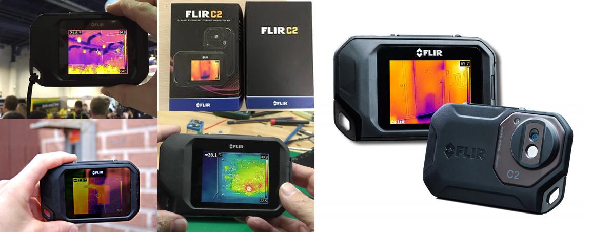 photos de la caméra thermique FLIR C2