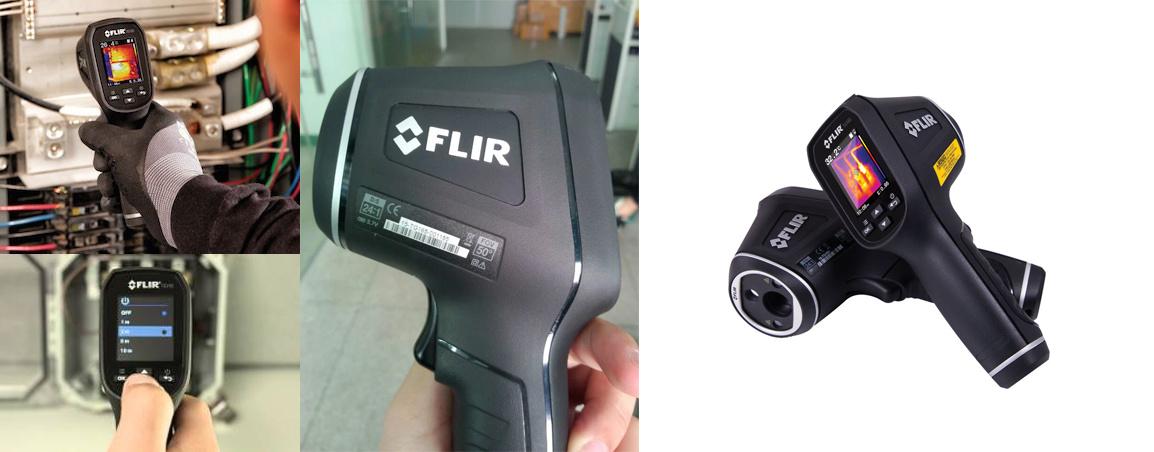 photos de la caméra thermique FLIR TG165